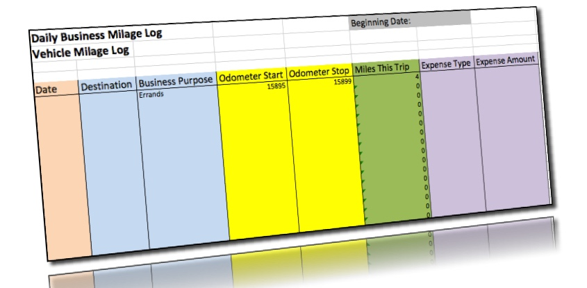 FREE Mileage Log Template for Excel | ExpressMileage
