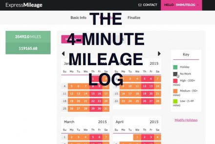 Generate A Mileage Log In 4 Minutes | Expressmileage